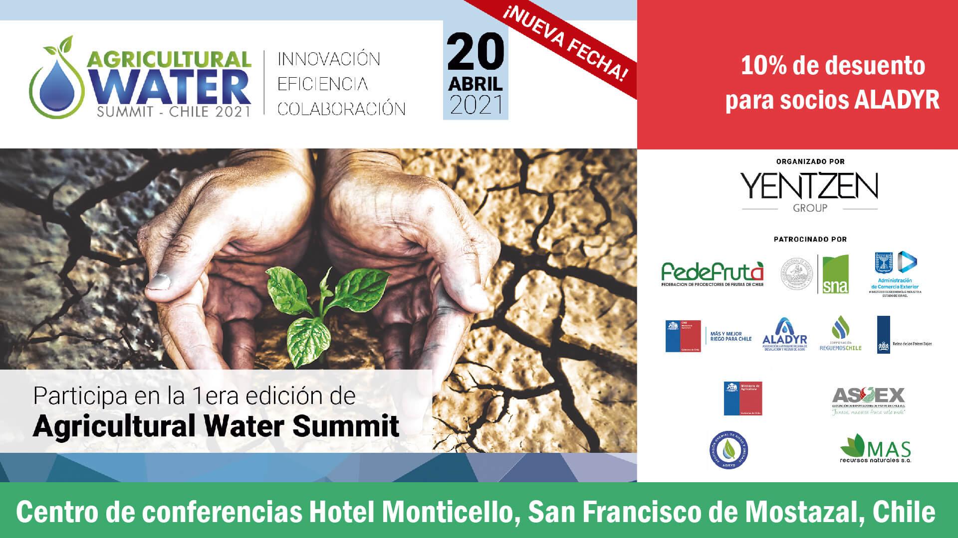 Agricultural Water Summit 1era edición